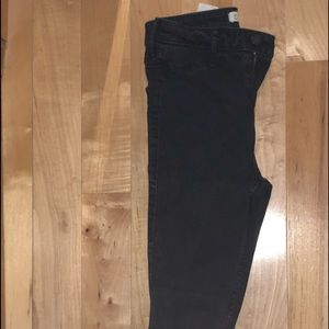 two pairs of jeans from hollister, good condition